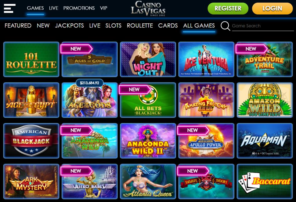 CasinoLasVegas games